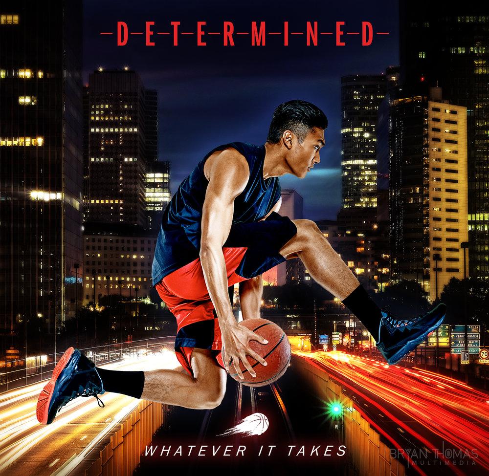 """Social Media Poster: """"Determined"""""""