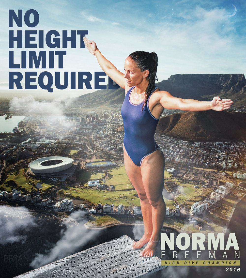 High Dive Champion, 2016: Norma Freeman