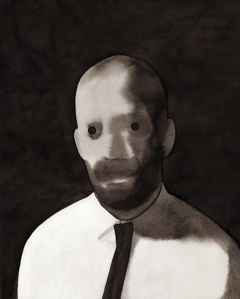 Autorretrato (A punto de llorar), 2011