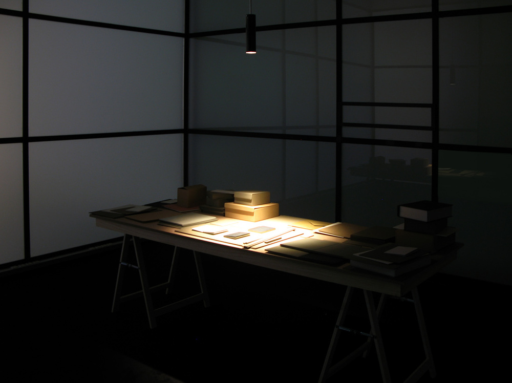 Constelación (working table), 2012