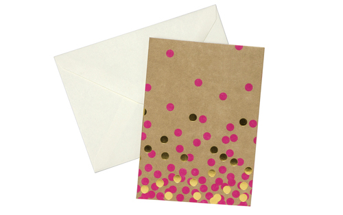 Craft + Metallic Gold Confetti // Greenroom, available at Target