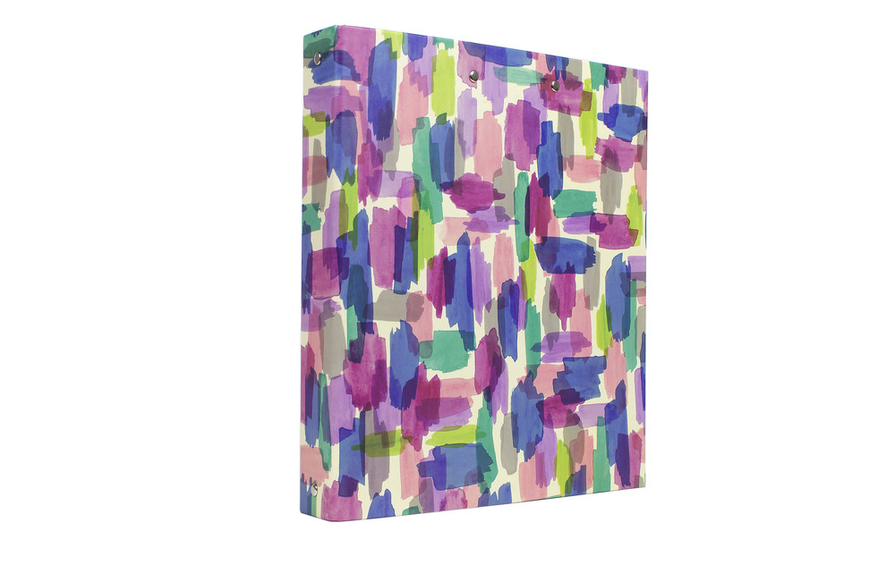 "1"" Binder - Watercolor // Greenroom, available at Target"