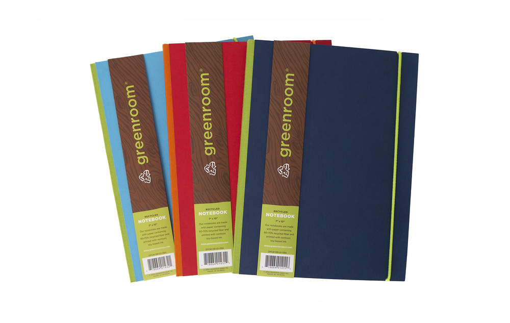Professional Book Cloth Notebook // Greenroom, available at Target
