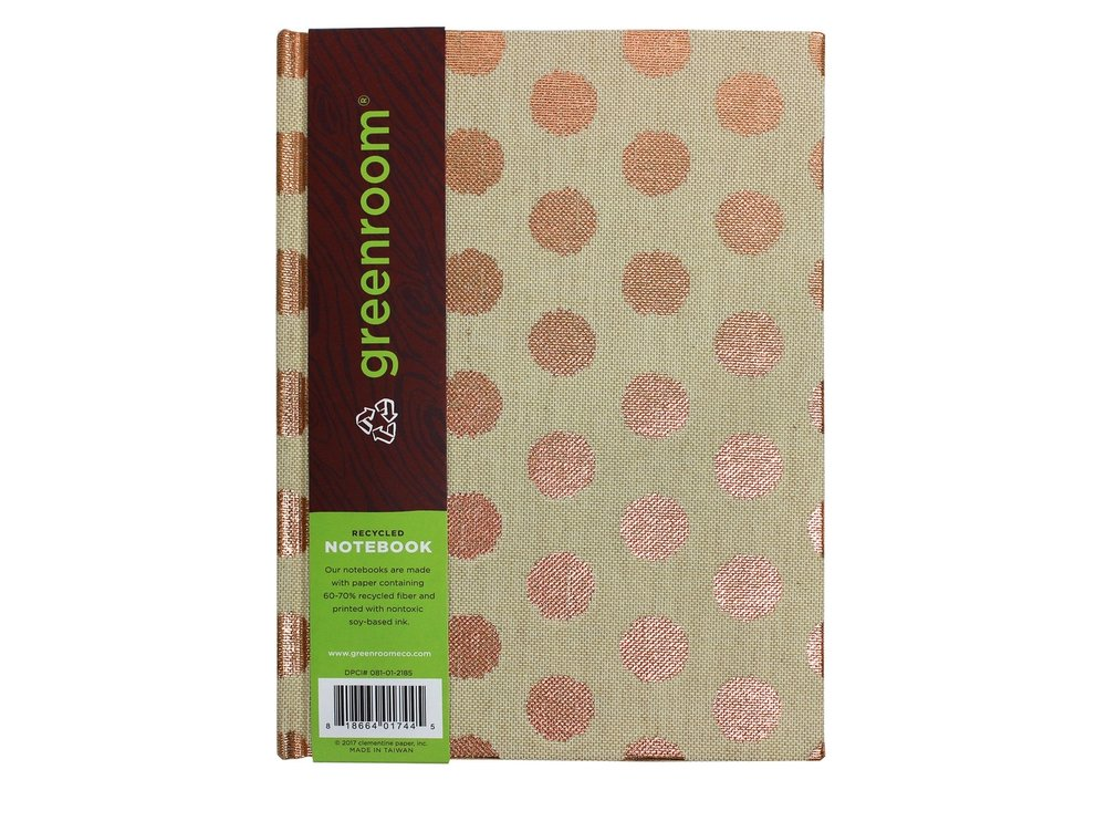 Natural Linen Journal  // Greenroom, available at Target