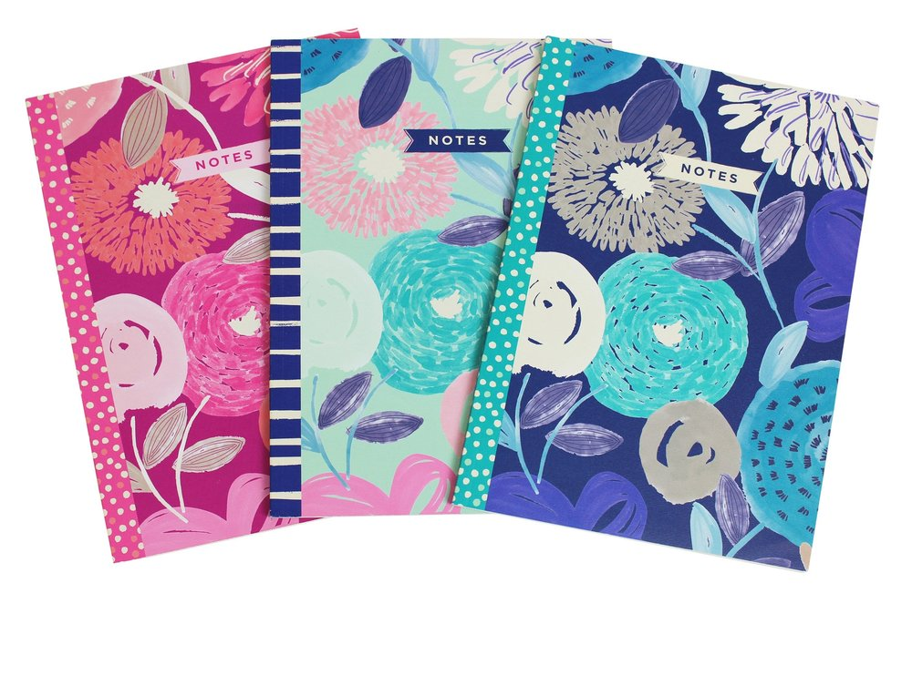 3-Pack Mini Pattern Notebooks // Greenroom, available at Target