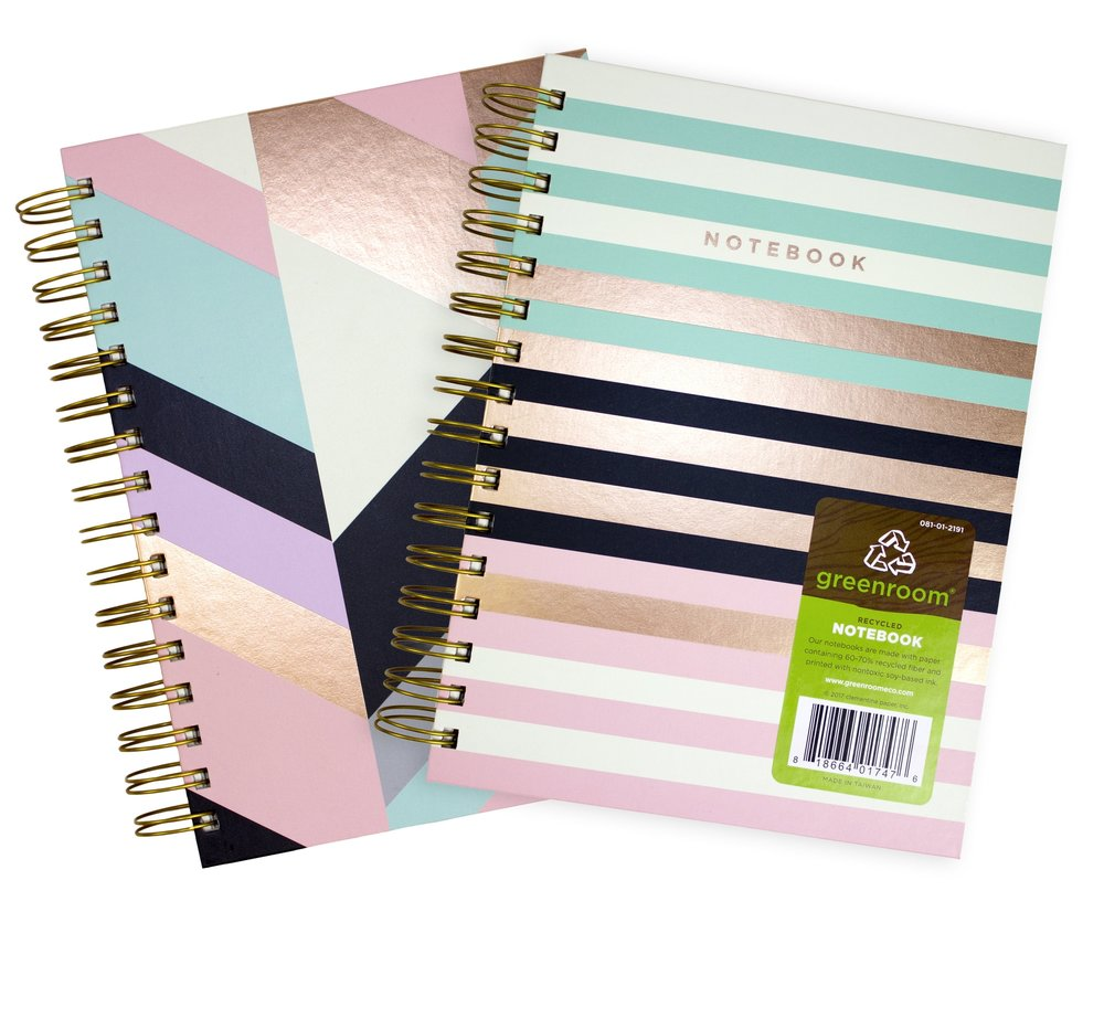 Rose Gold  Notebook // Greenroom, available at Target