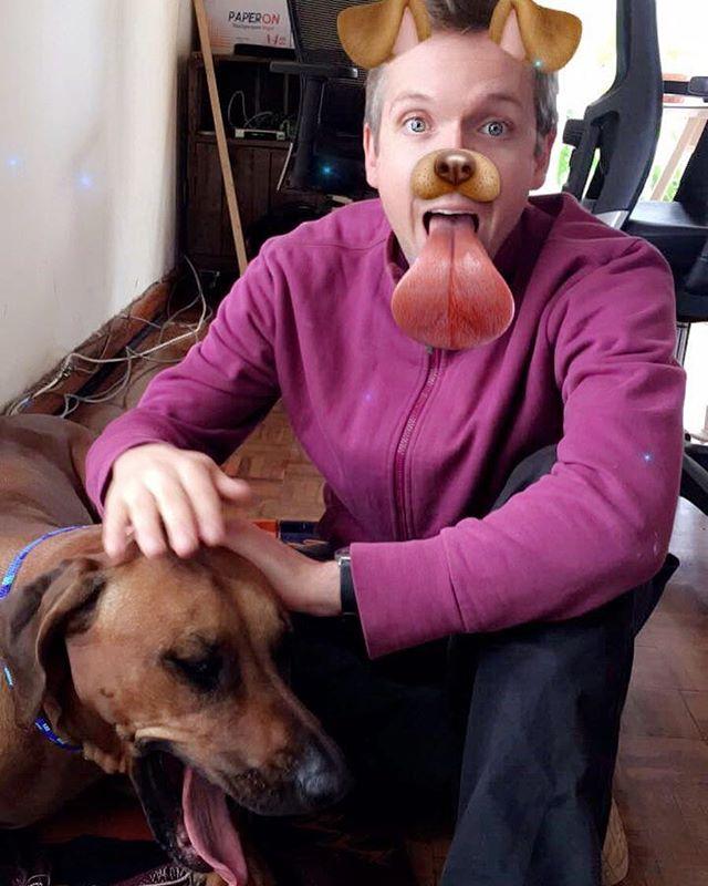 It's a doggie dog world at OkHi. #wholetthedogsout🐶 #itwasmzeeH #letsokhi