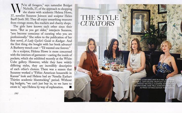 Blackbird Tearooms recently featured in British Vogue