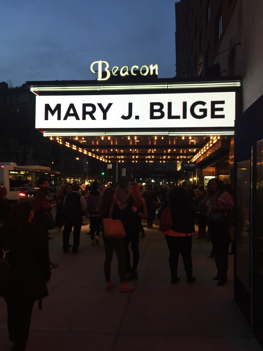 Mary J. Blige shut the Beacon Theater down!