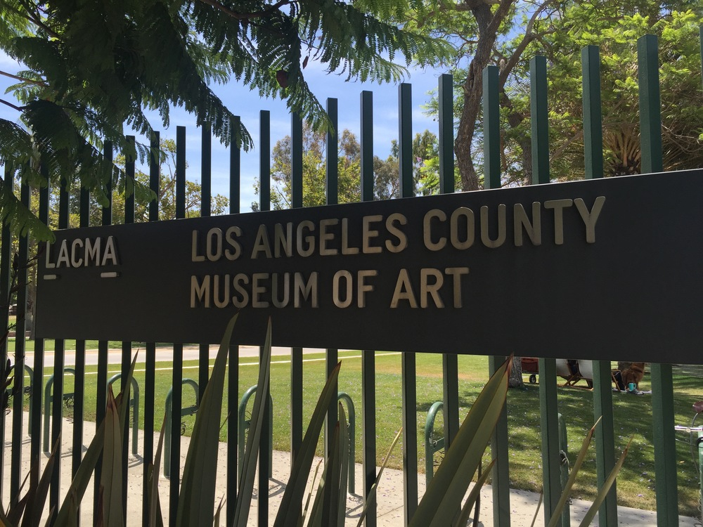 I ABSOLUTELY LOVED the LACMA! Out of the many incredible museums I've been to (The Met, The Moma, The Uffizi Gallery, the Vatican Museums), I would definitely put this up there.