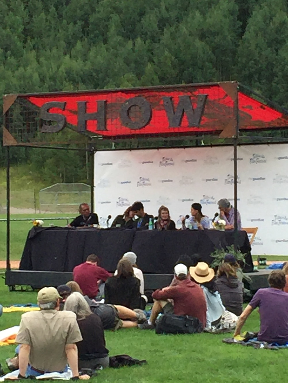 Panel at the picnic!