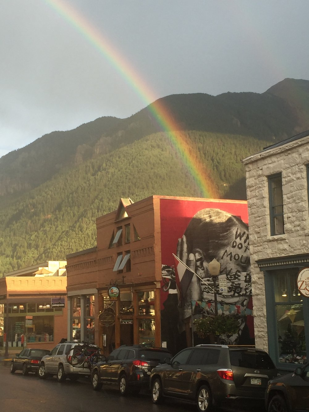 Rainbow Over Ghost Town