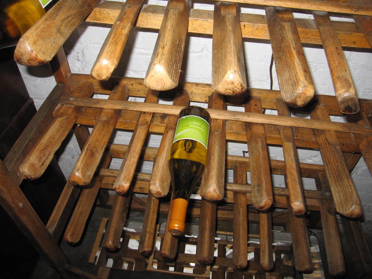 Shoe Factory Wine Rack $225 (SOLD)