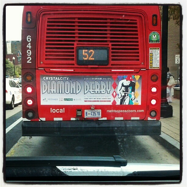 Diamond-derby.com making the scene on the streets of DC! w/ @ccbid #bikes #art