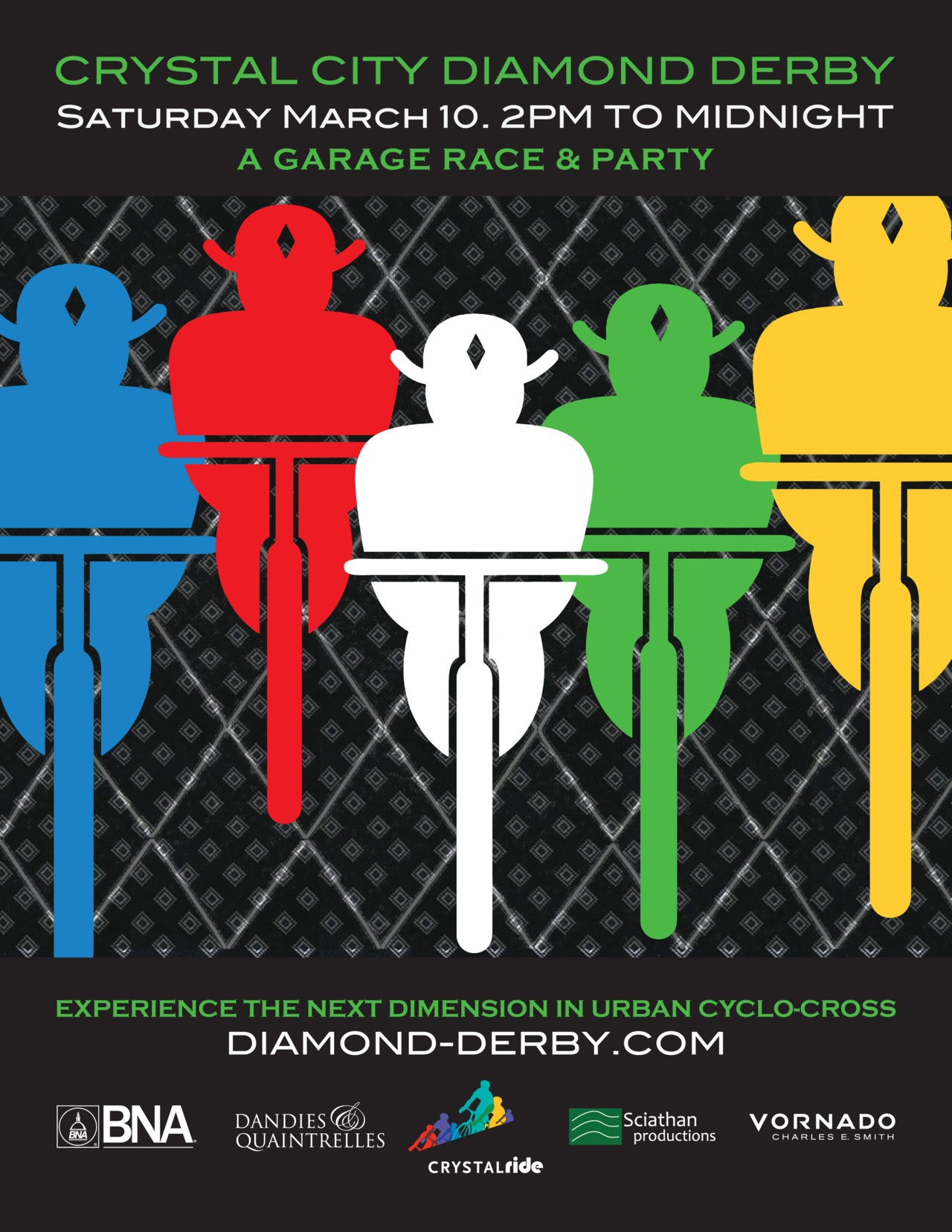 The Crystal City Diamond Derby is coming! Featuring artwork and furniture from Corehaus!