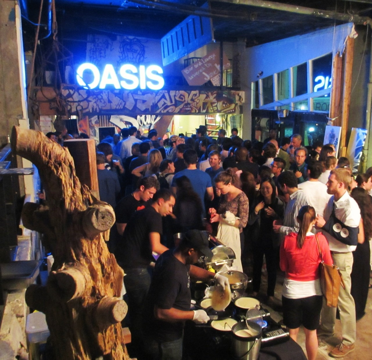 The house was packed for the opening party @ #  www.thewaterstreetproject.com  #corehaus