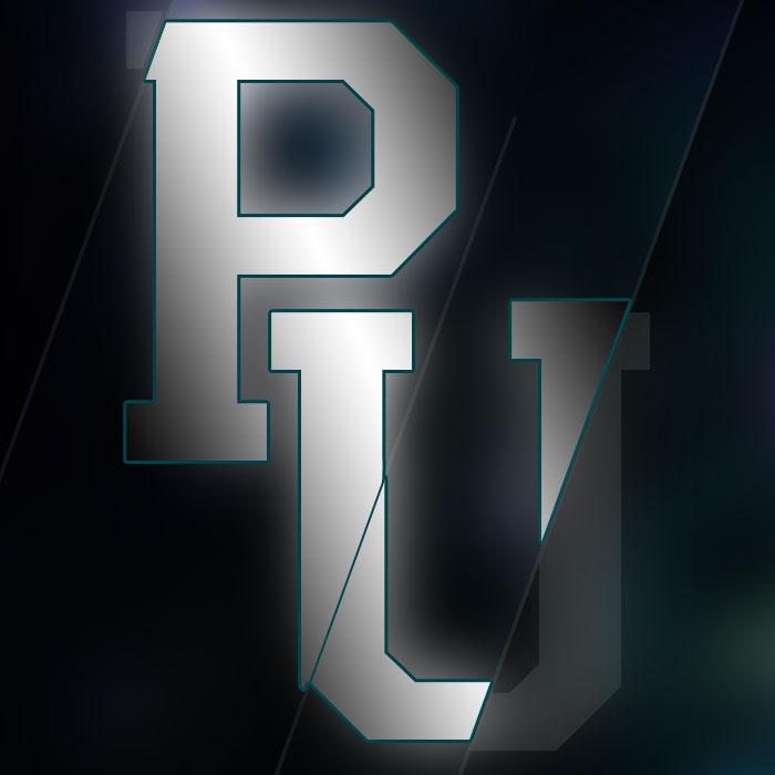 """Logo for game content streamer """"Pwn University"""""""