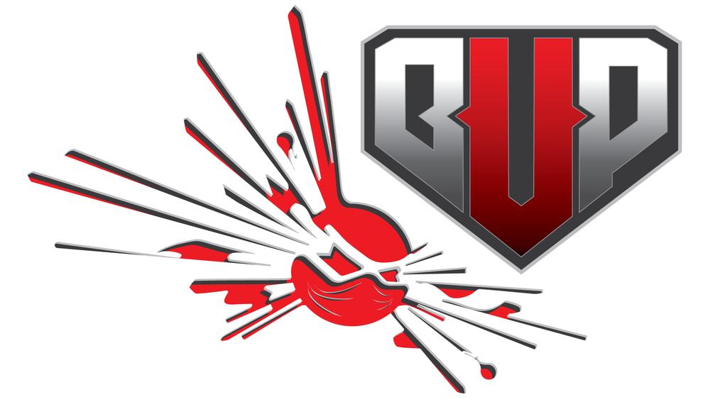 Logo and branding mascot for the Better Under Pressure esports organization.