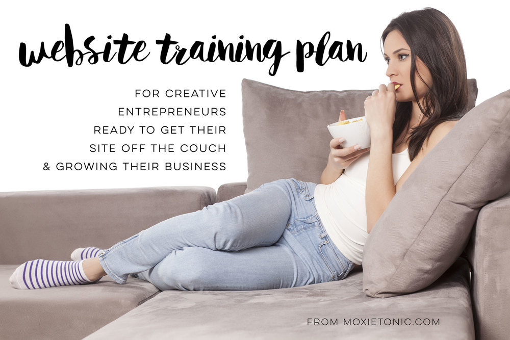 Your website should be a contributing member of your business team. If it's sitting on the couch eating chips and watching Judge Judy - it's time to build a training plan. Learn more at MoxieTonic.com