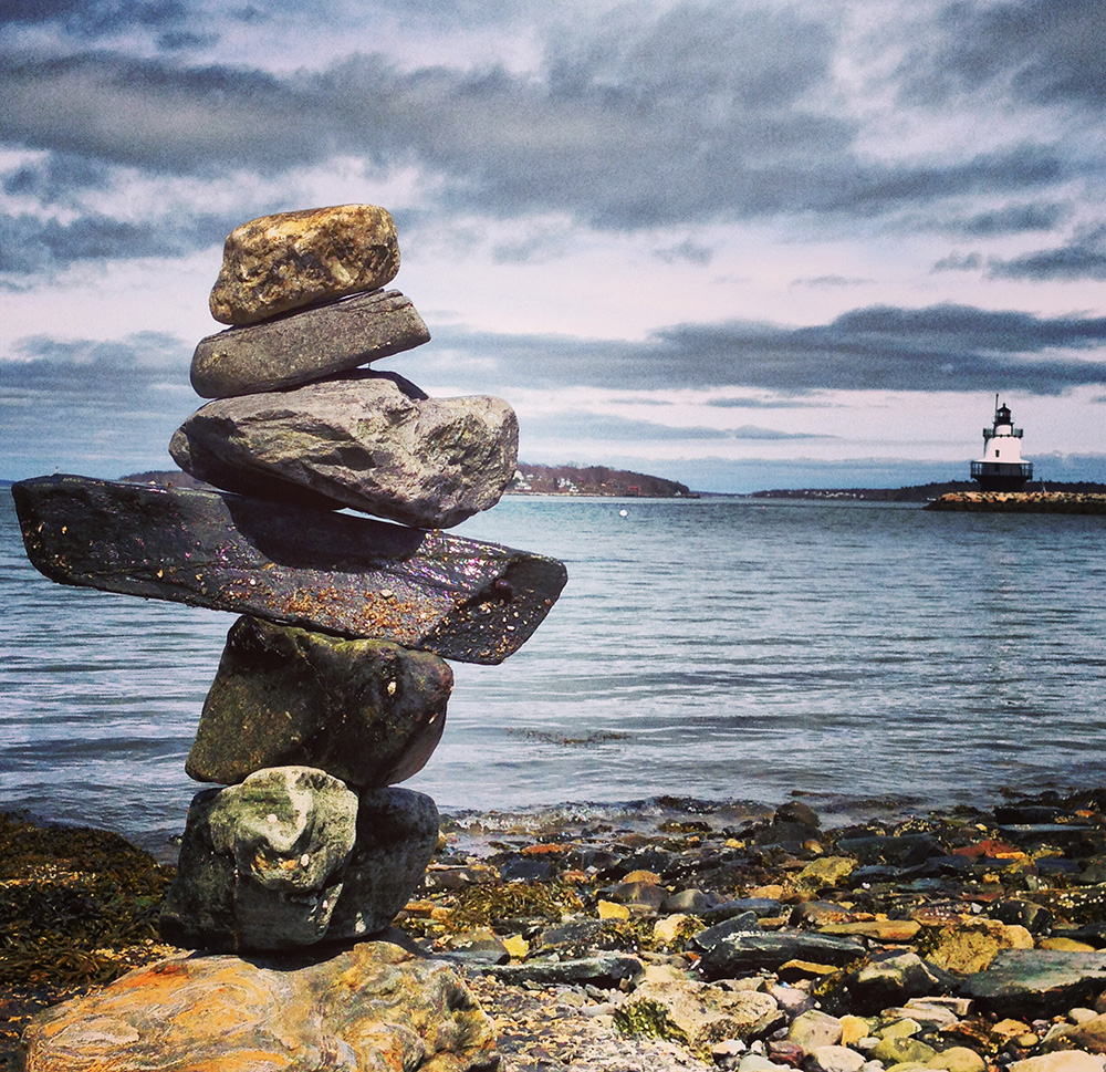 cairn in maine