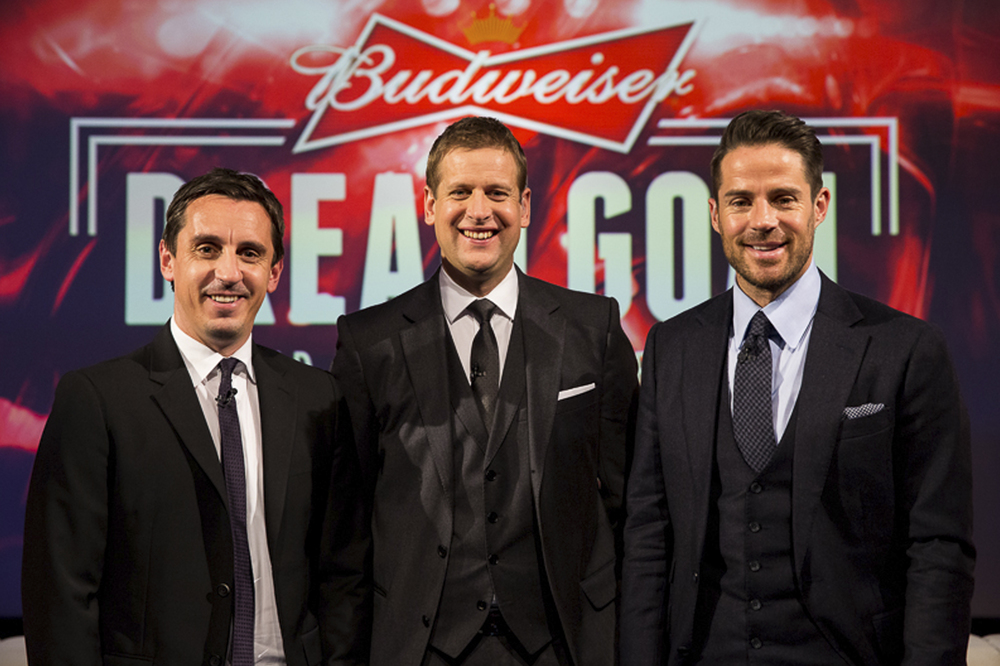 Budweiser Dream Goal Sky Sport Studio