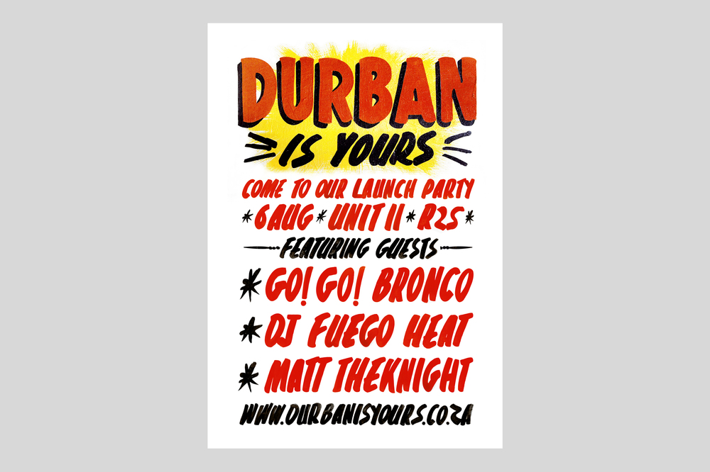 Durban Is Yours Poster