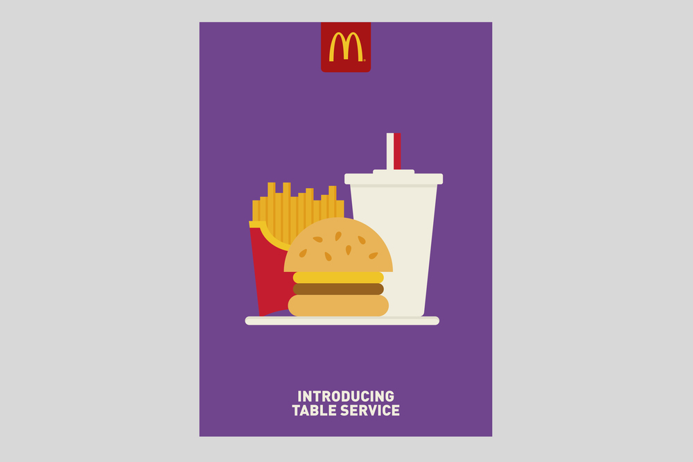 McDonald's Restaurant of the Future Poster