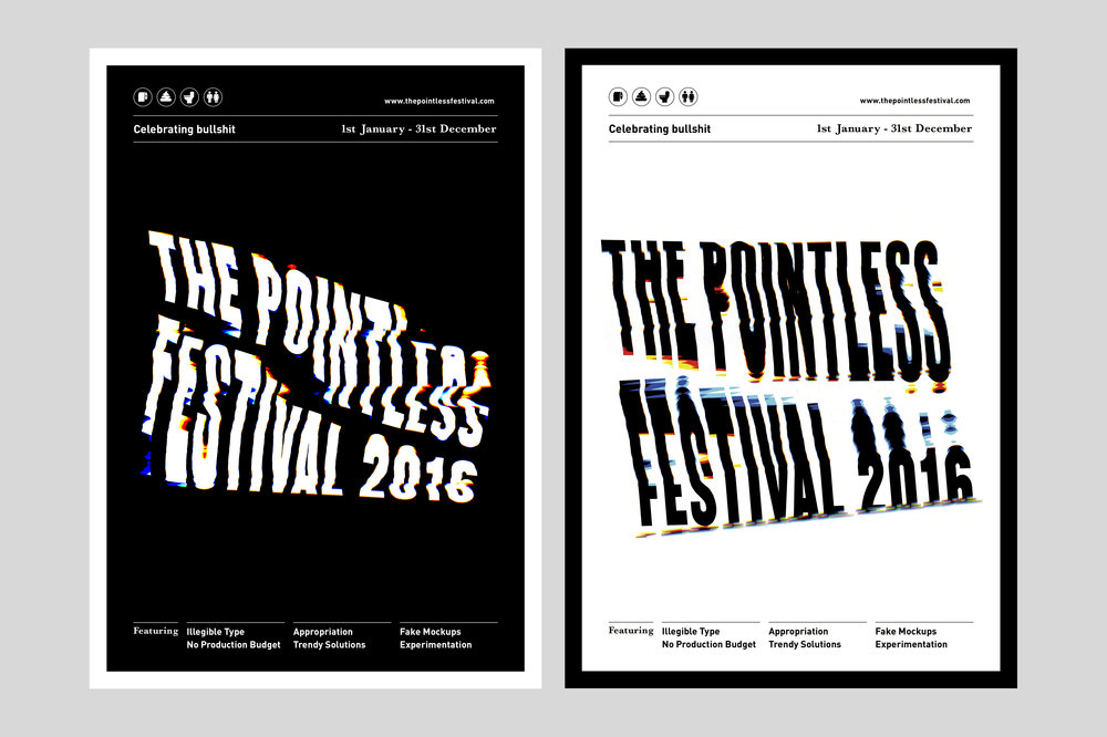 Pointless Festival Poster