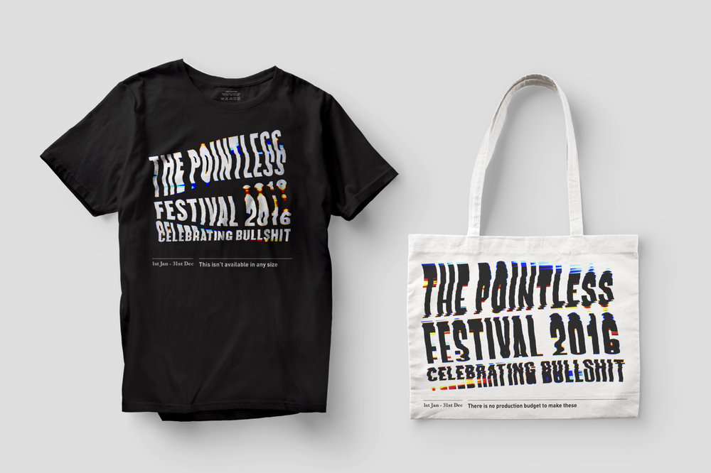 The Pointless Festival Merchandise