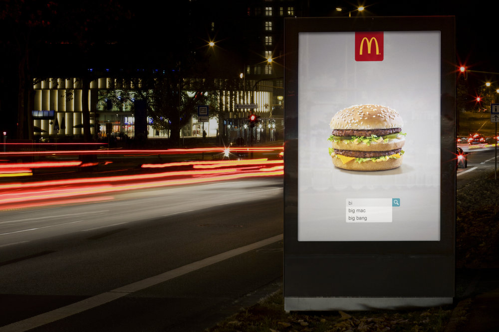 Stathi Kougianos McDonald's Search Campaign Big Mac