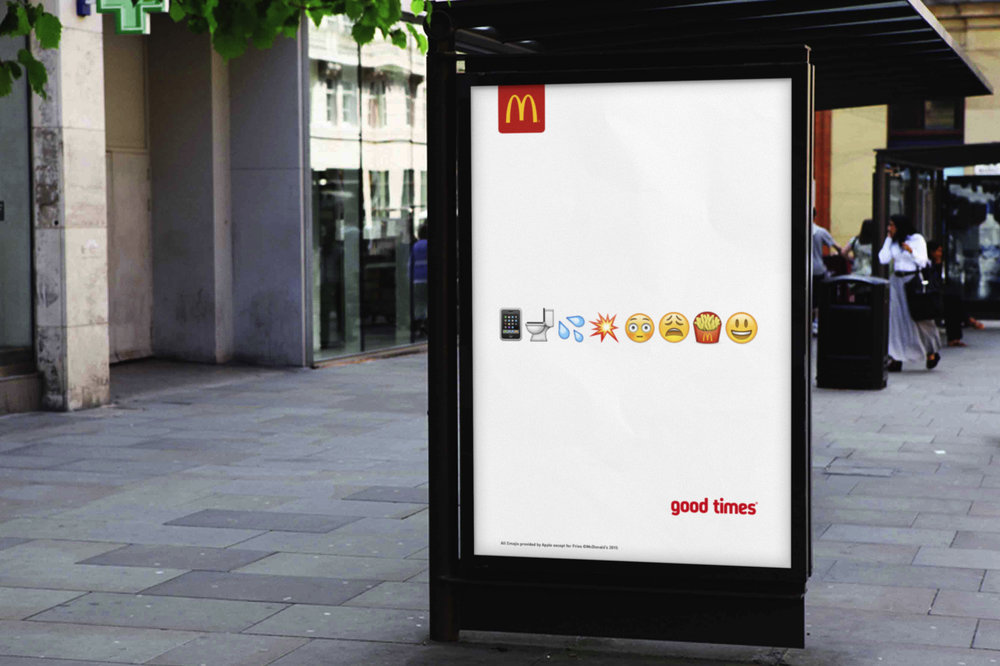 Stathi Kougianos McDonald's Emoji 6 Sheet