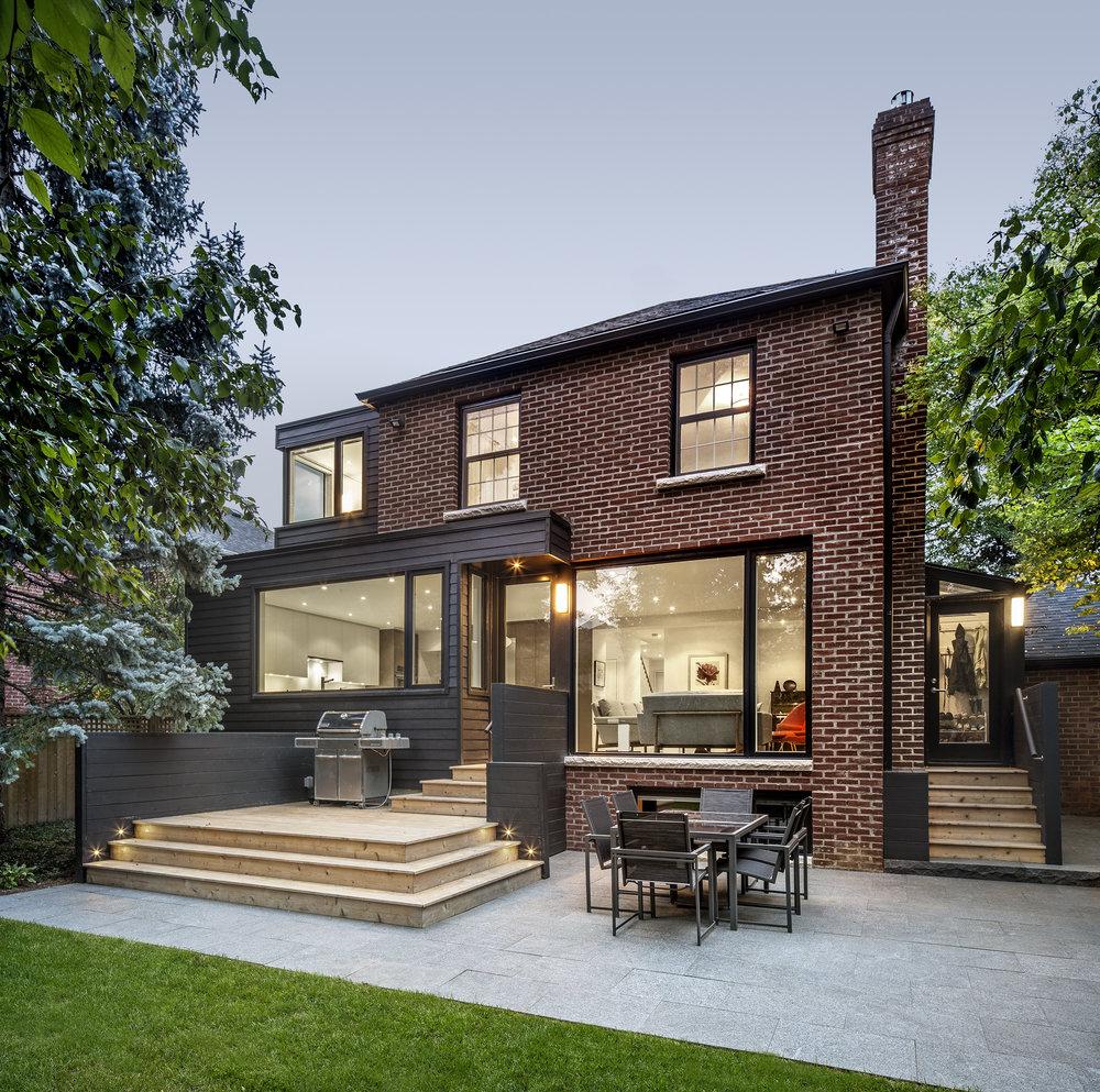 Back Yard, Glengrove | Kyra Clarkson Architect