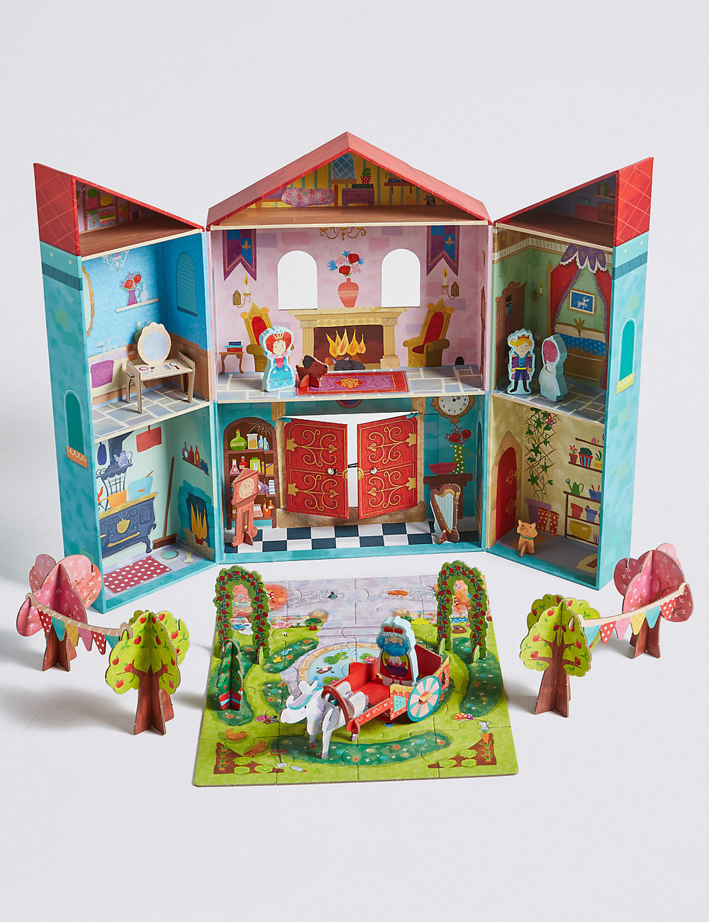 1. Princess Tower Playset