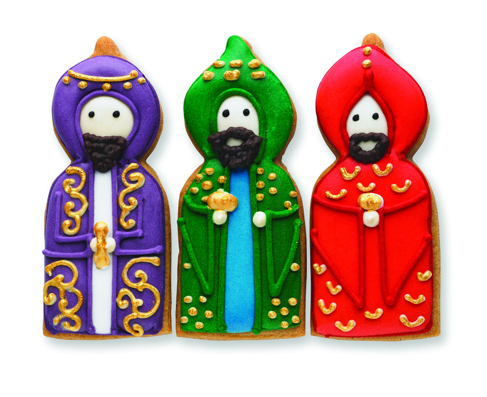 6. Three Kings Biscuit Card