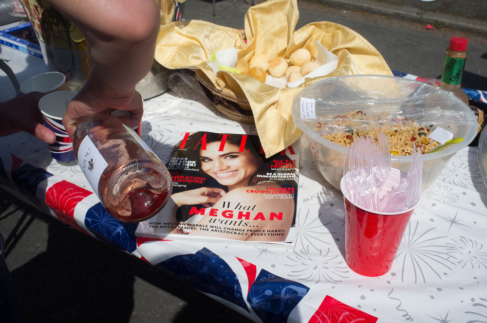 Royal Wedding Street Party, Fuji X100, 23mm, F8, 1/1900