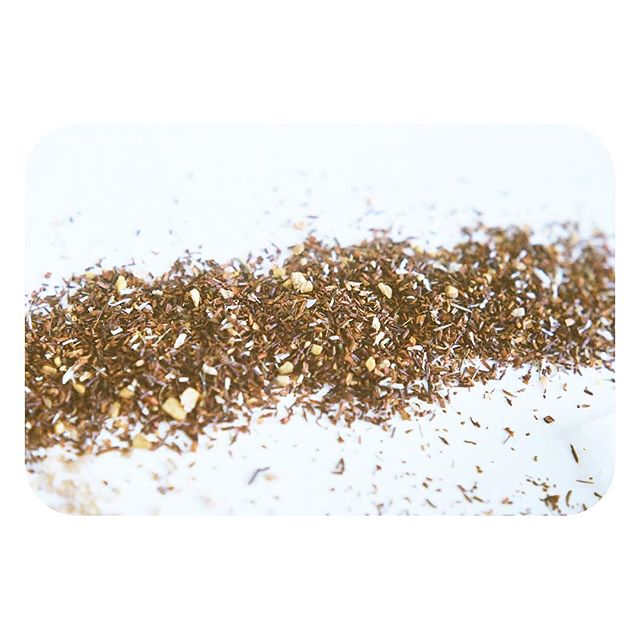 Just because something is small, doesn't mean it's not mighty. Ah, little bits of rooibos, thank you for being full of energizing vitamins and minerals that keep me at a frequency which allows me to be my mighty self.