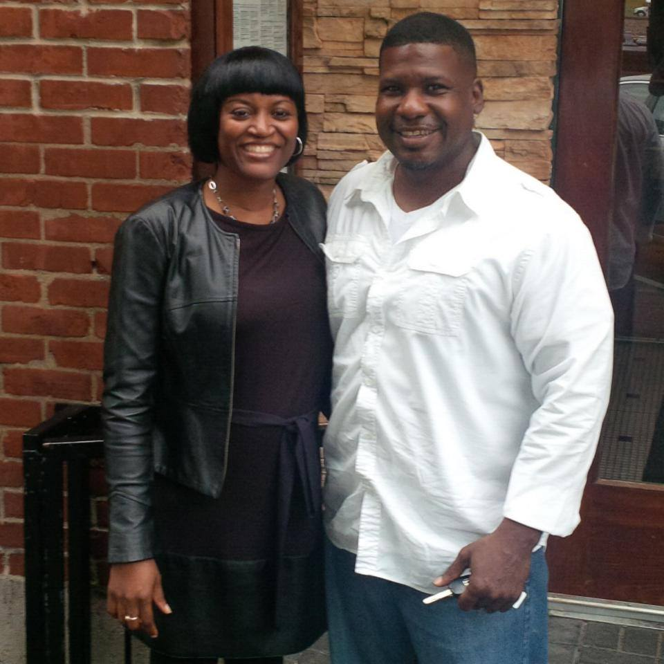Bonita and her husband, Rodney Broadnax