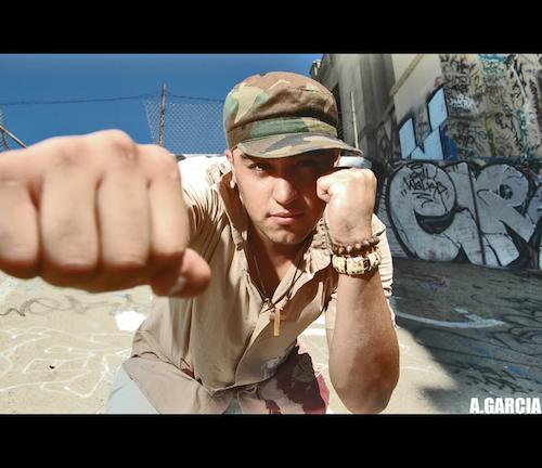 Solares Mc Hip Hop desde Los Angeles para el Jaguar TV