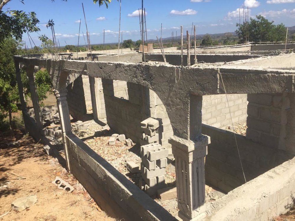 Baja Cook House Construction