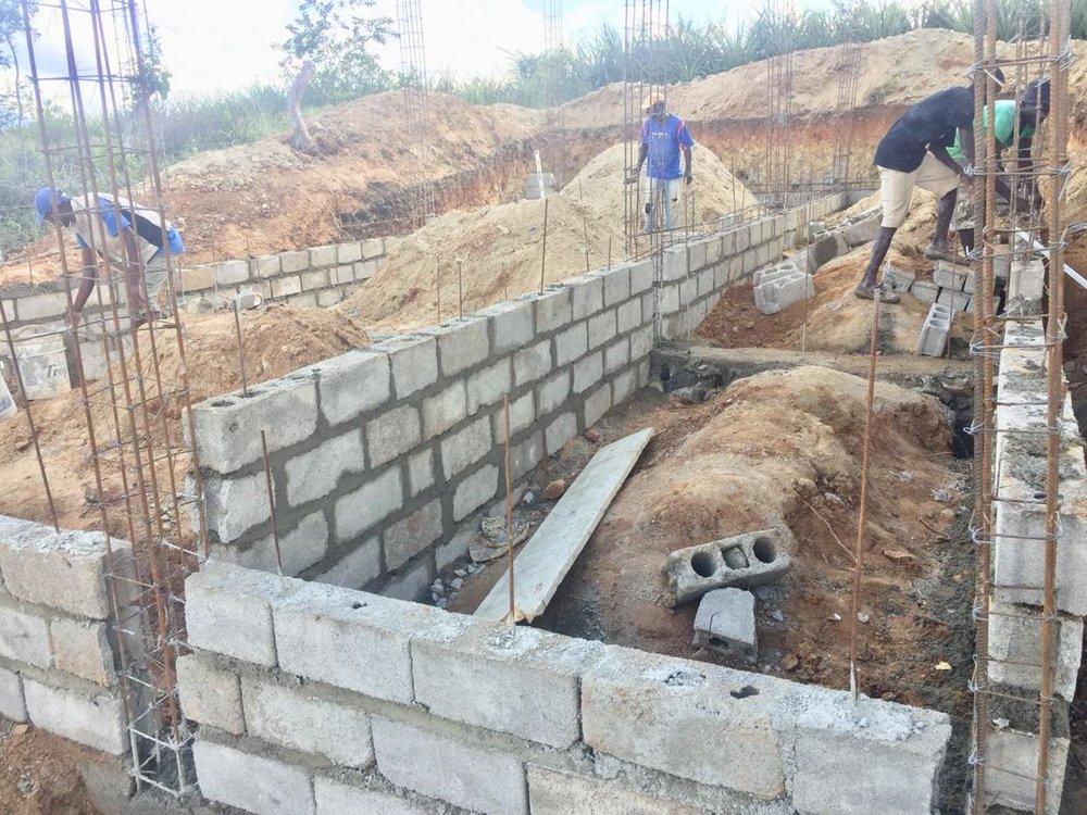 Baja Cookhouse Construction