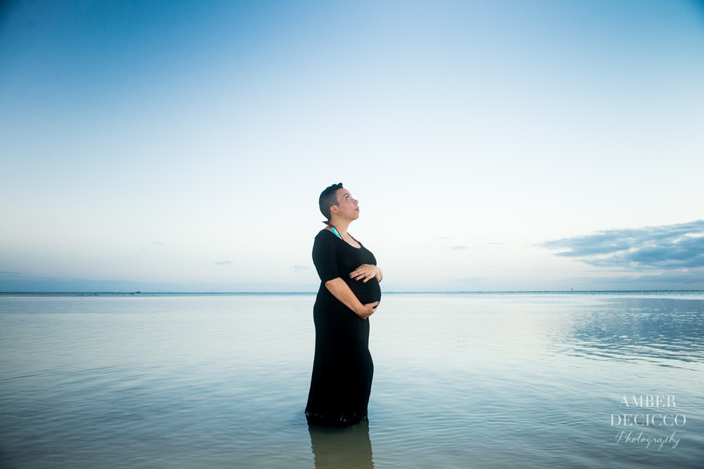 Pregnant Mom Maternity Photograph