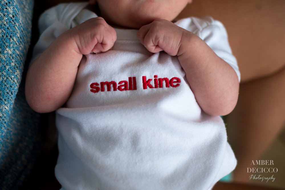 Small Kine Newborn Onesie