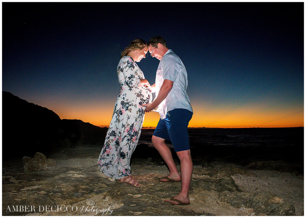 sunset-maternity-photograph