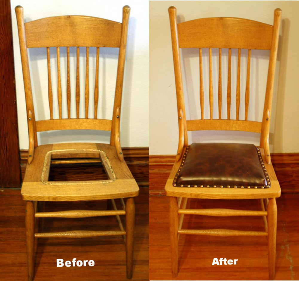 Upholstery 101 on repair chair bottoms