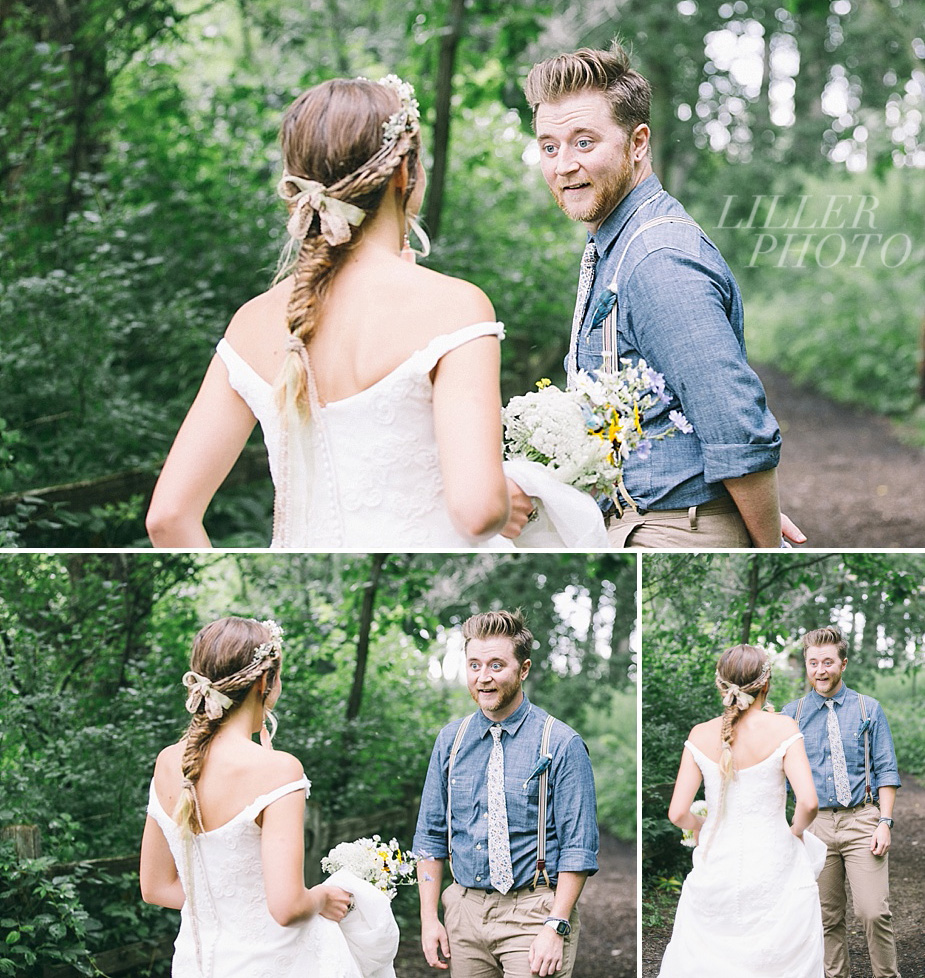 Austin+Hannah+Chicago-DIY-Wedding-Photography_0025_First-Look-Reaction-LILLERPHOTO