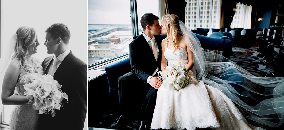 BLU Milwaukee, Milwaukee Wedding Photographer, Pfister Wedding, First Look