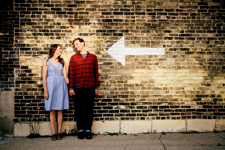 Milwaukee Wedding and Engagement Photographer - Fifth Ward
