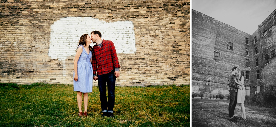 Milwaukee Wedding and Engagement Photographer - Fifth Ward Session