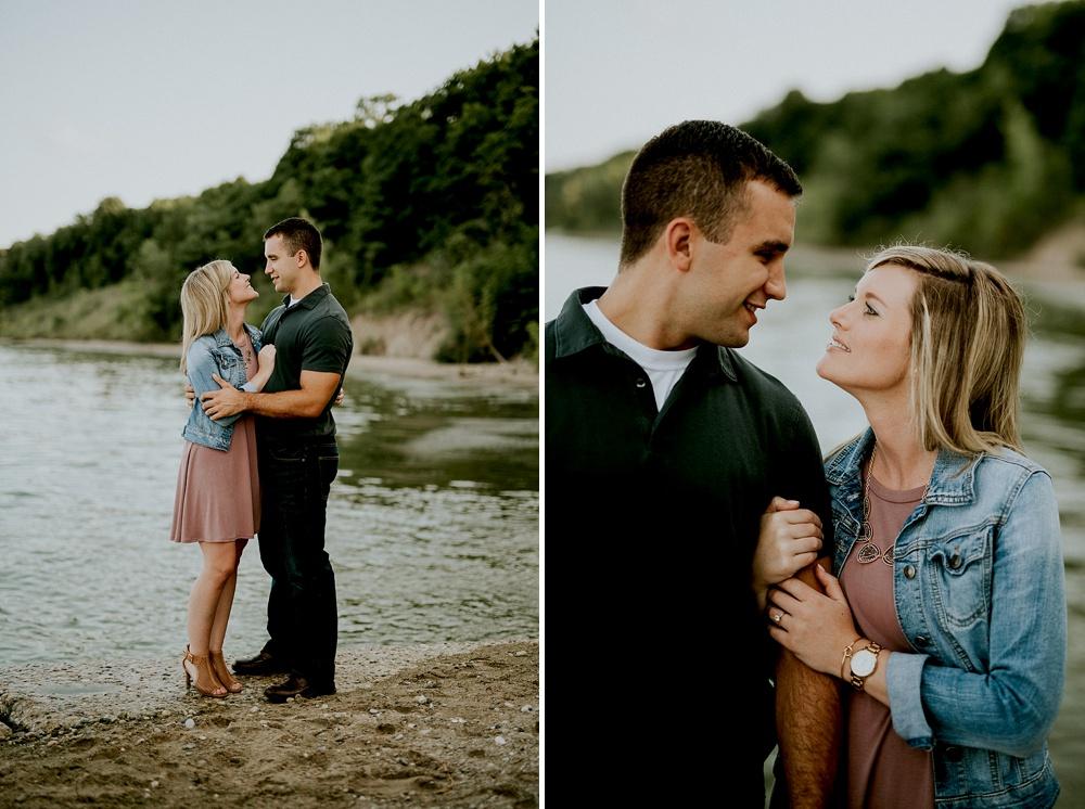 Grant Park - Seven Bridges Engagement Session - Milwaukee Wedding Photographer