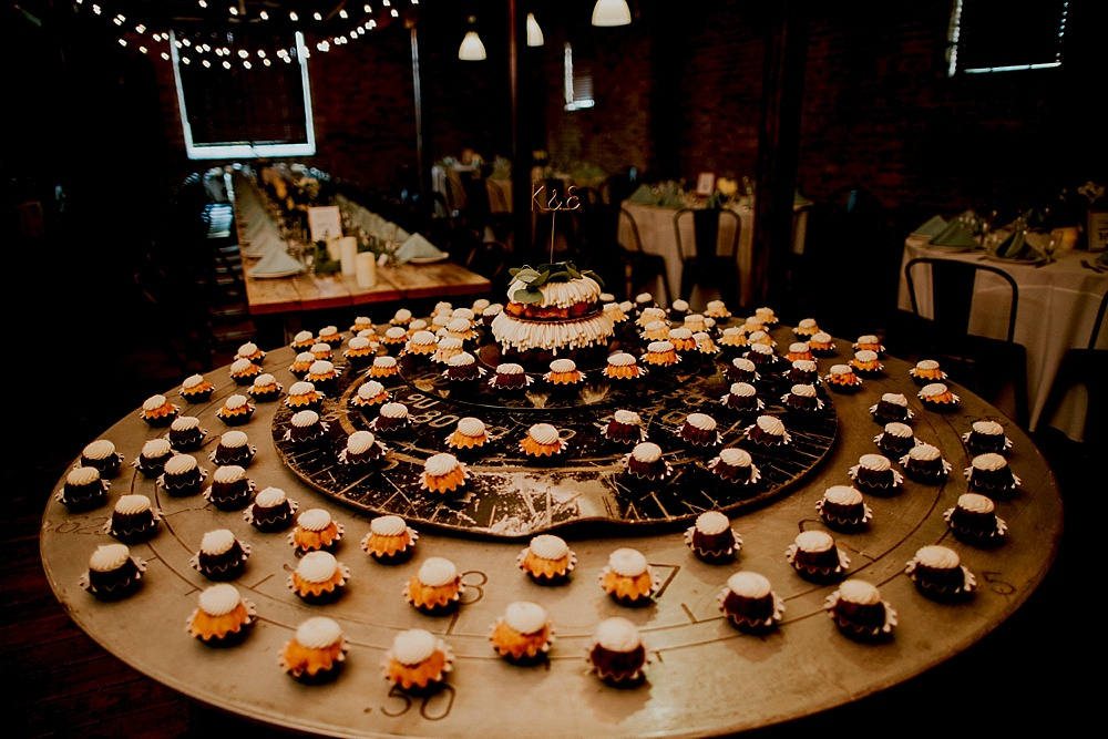 Milwaukee Wedding Photographer - The Haight Wedding - Elgin - Cake Table